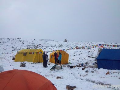 Camp de base du Baruntse