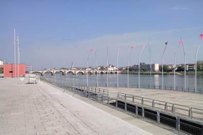 La Saône à Macôn