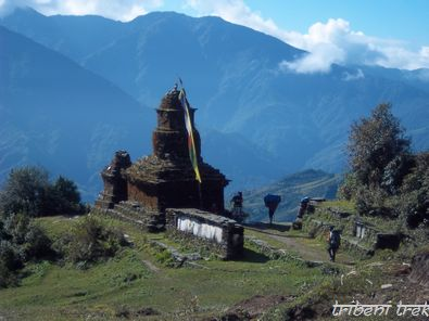 Stupa au Solu Khumbu