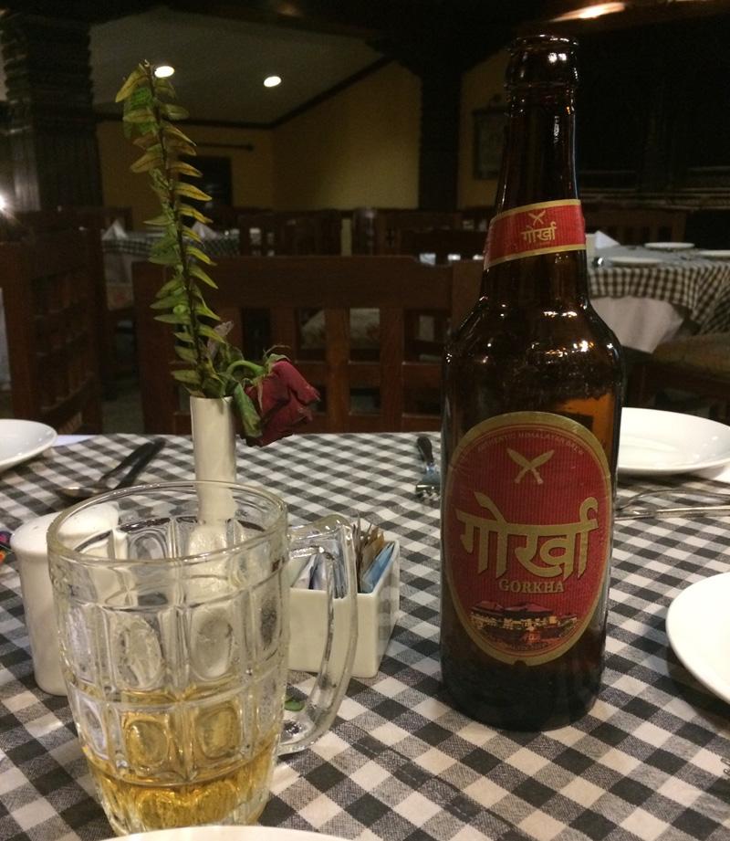Bière du départ