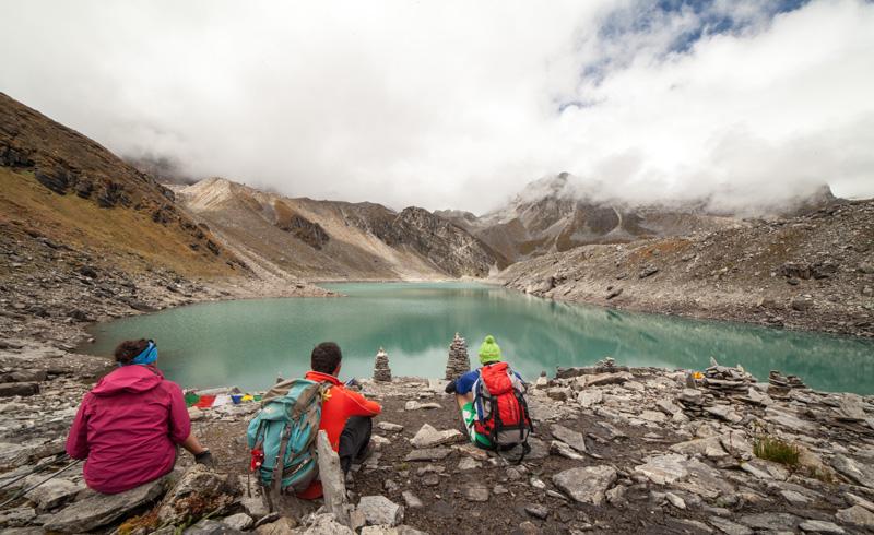 Lac de Dhud Pokhari