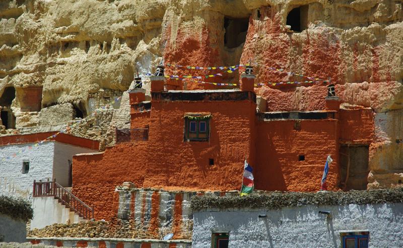 Monastère de Garphu au Mustang