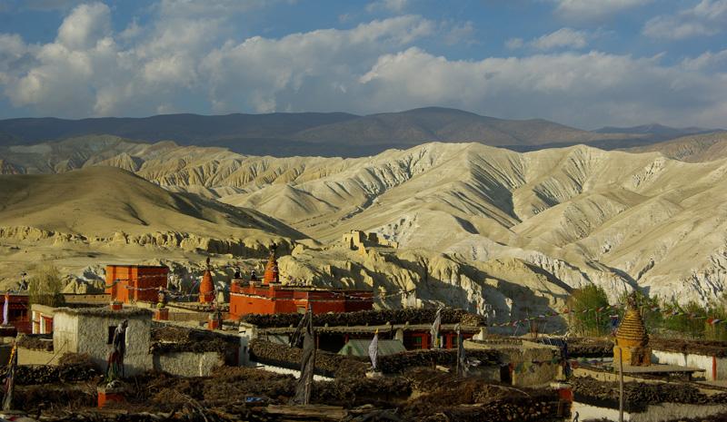 Le monastère de Lo Manthang au Mustang